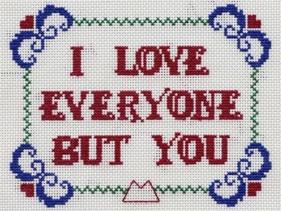 I Love Everyone But You (korssting)