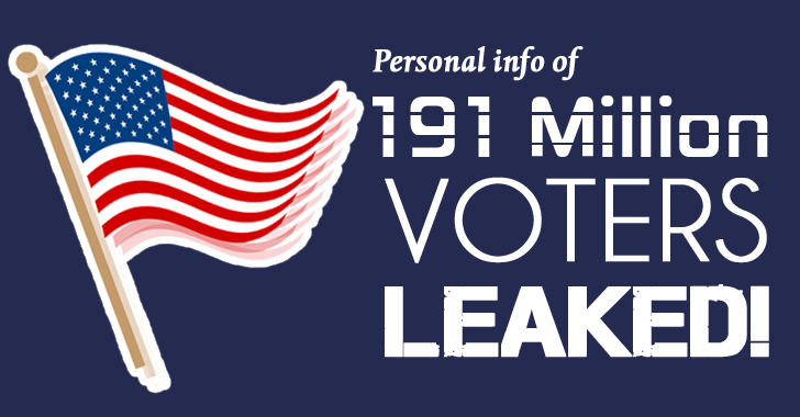191 Million US Voters' Personal Info Exposed by Misconfigured Database