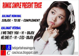 pengertian simple present tense