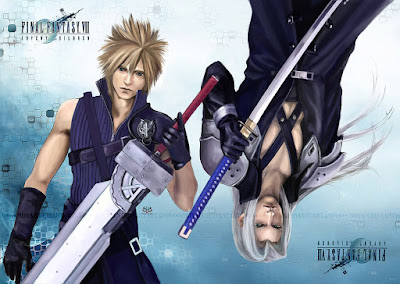 Cloud Sephiroth Final Fantasy VII