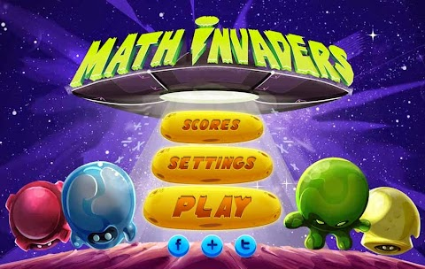 MATH INVADER: Videojuego gratuito para aprender a sumar, restar, multiplicar y dividir