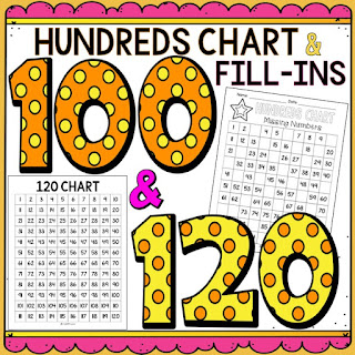 Race to 100 is a simple, fun game to build number sense using a hundred chart.