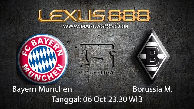 Prediksi Bola Jitu Bayern Munchen vs Borussia Monchengladbach 6 Oktober 2018 ( German Bundesliga )