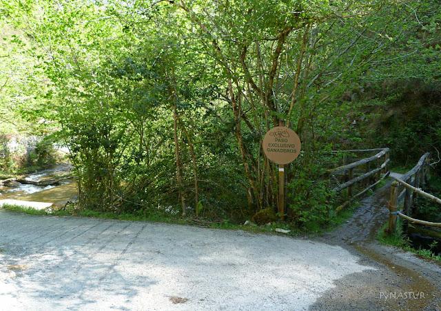 Puente Degoes - subida al Collao Tralafuente y el Vízcares