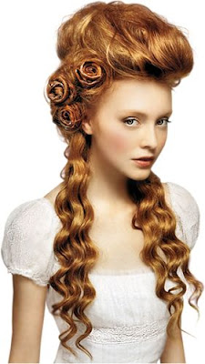 Steampunk makeup in the victorian style from the 1800s to the 1900s. DIY tutorial for Pale skin, clean complexion natural look with rouge cheeks.