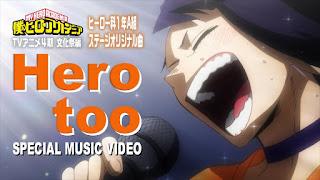 My Hero Academia clipe com apresentação musical da Turma 1-A