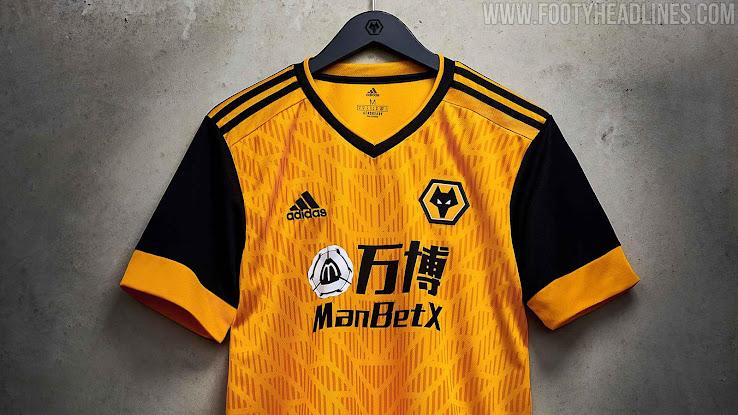 Wolves 20-21 Home Kit Released - Footy Headlines