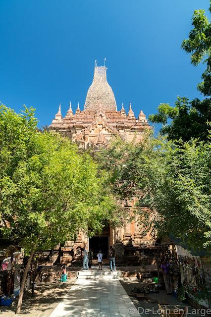 Htilominlo temple - Bagan - Myanmar - Birmanie