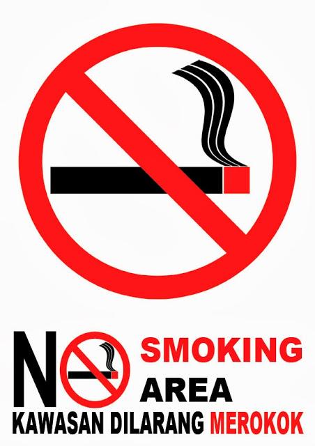5 Contoh Poster Dilarang Merokok Populer Tato Dan Poster