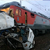 At least 16 killed as train hits bus in Russia