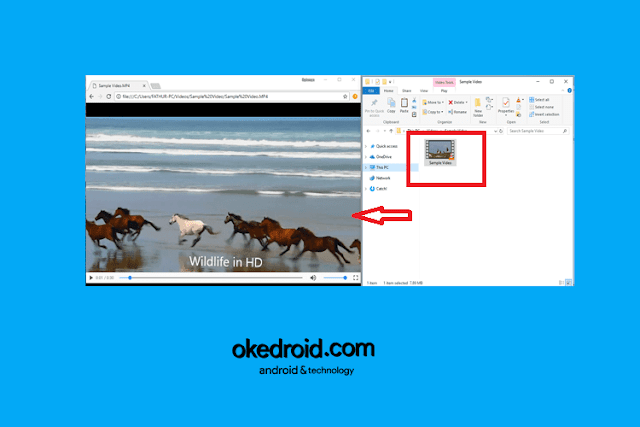 Menggunakan Google Chrome Sebagai Media Player