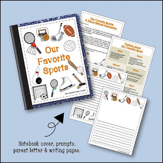 """Encouraging kids to write often feels like an uphill battle, but it becomes a lot easier when you make small changes to make writing a fun and meaningful process for kids. Our guest blogger shares several tips for encouraging kids to write with """"write about"""" ideas. Click through to read her post!"""