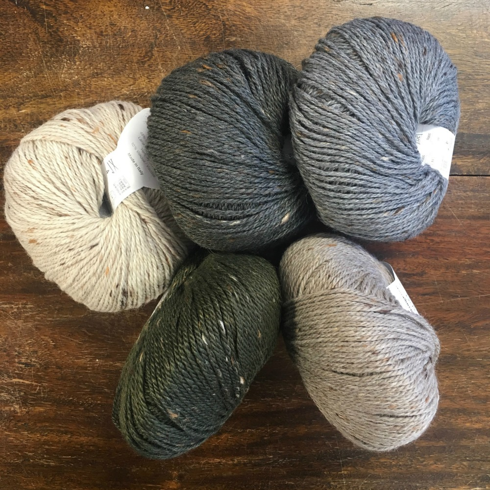 The Woolly Brew Rico Merino Plus Tweed Dk In The Shop