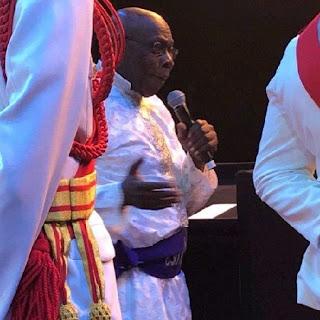Obasanjo In Cassock
