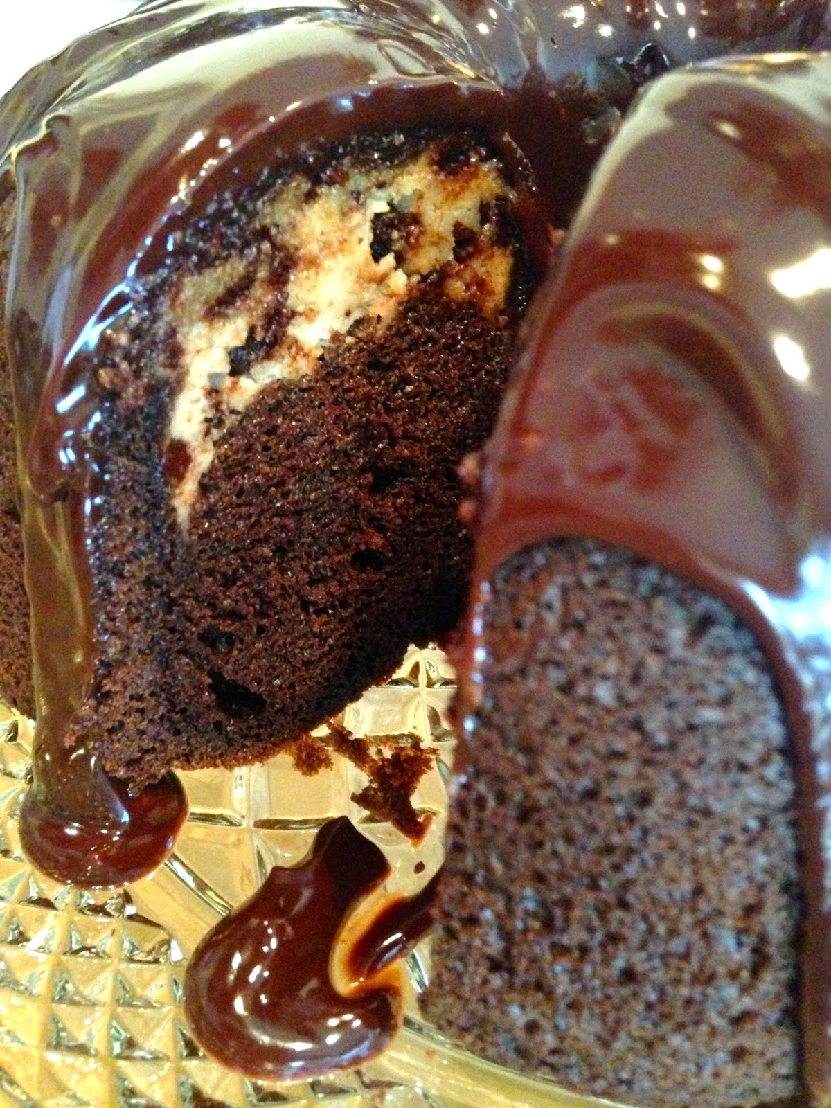 "Rita's Recipes: ""Tunnel Of Love"" Chocolate Bundt Cake ( Chocola..."