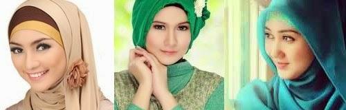 Cara Penggunaan Jilbab Sesuai Bentuk Muka