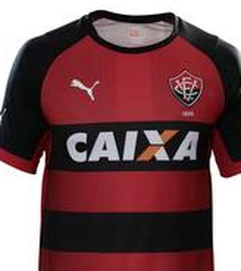 Puma apresenta novos uniformes do Vitória ~ FutGestão f5e238a390859