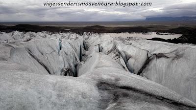 Glaciar Vatnajökull en el Parque Nacional Vatnajökull