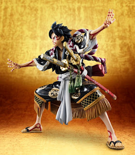 Monkey D. Luffy Saien ver. de One Piece - MegaHouse
