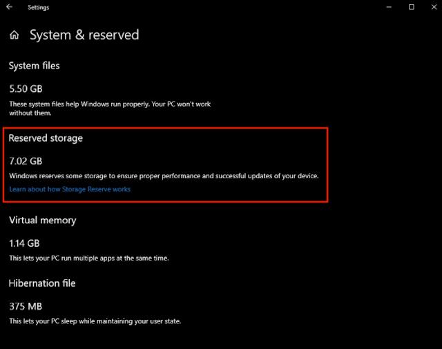 مايكروسوفت تسرق منك 7 جيجابيت من مساحة حاسوبك وإليك طريقة تعطيل هذا الأمر في الويندوز 10