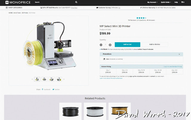 mp select mini 3d printer reviews, monoprice, best, beginner, how to