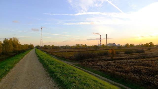 Krajobraz - EC Siekierki