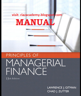 Managerial Finance Book