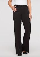 Pantaloni largi cu stretch bonprix (bonprix)
