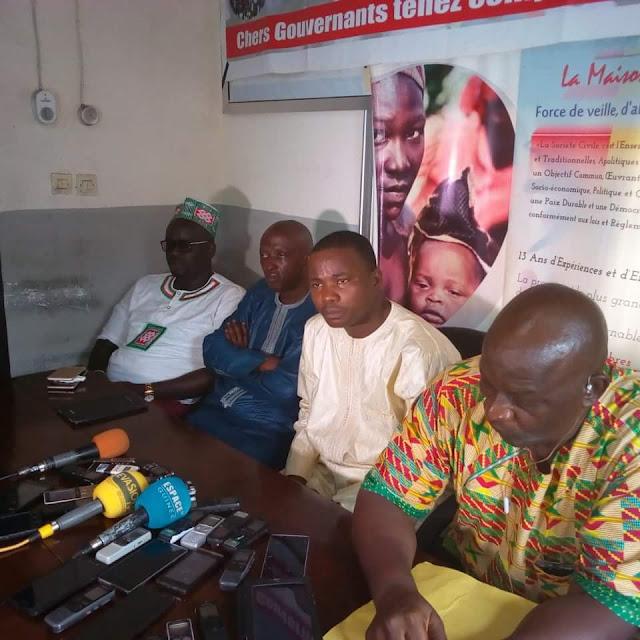 Conseil National des Organisations de la Société civile Guinéenne (CNOSCG)