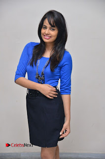 Actress Nandita Swetha Stills in Black Mini Skirt at Ekkadiki Potavu Chinnavada Movie Special Show  0038.JPG