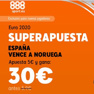 888sport superapuesta España vs Noruega 23 marzo 2019