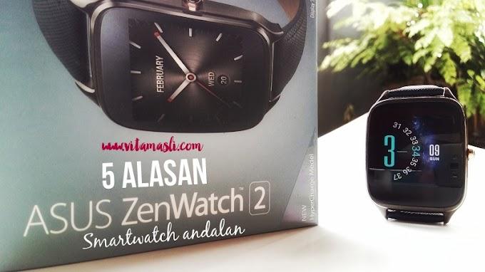 5 Alasan Asus Zenwatch 2 Smartwatch Andalan