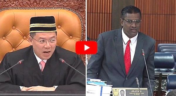 Parlimen Gempar Dengan Perkataan KEPALA BAPAK. Jawapan Balas MP BN Lebih Dasyat