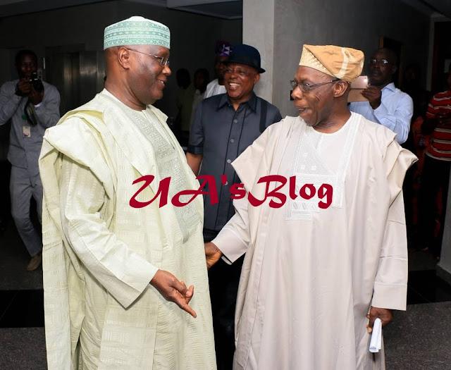 Breaking: Obasanjo confirms he has forgiven Atiku, congratulates him as the next president of Nigeria