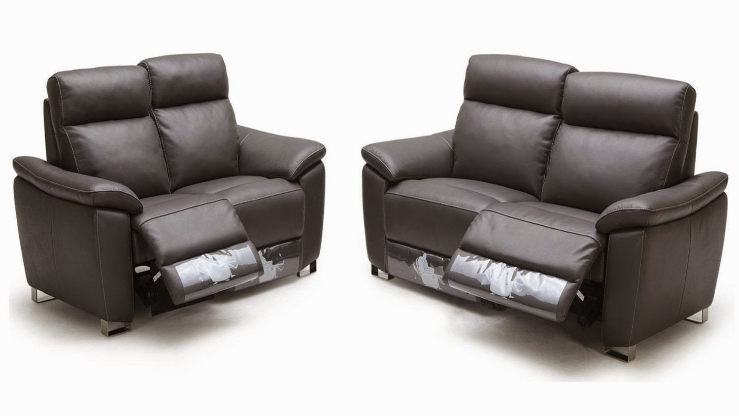 Best reclining sofa for the money two seater reclining leather sofas Leather loveseat recliners