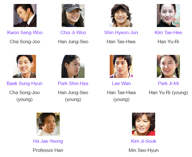 Sinopsis drama korea winter sonata eps 1-20 / Once upon a