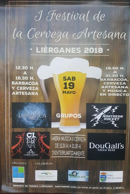 Festival de la cerveza artesana en Liérganes