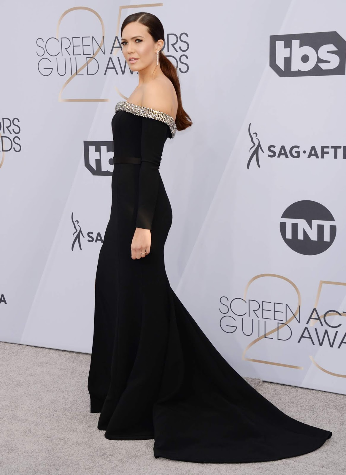 Mandy Moore - 25th Annual Screen Actor's Guild Awards in LA - 01/27/2019