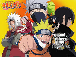 Download Game GTA San Andreas Modpack Naruto by Lutfi (Final V) Apk For Android