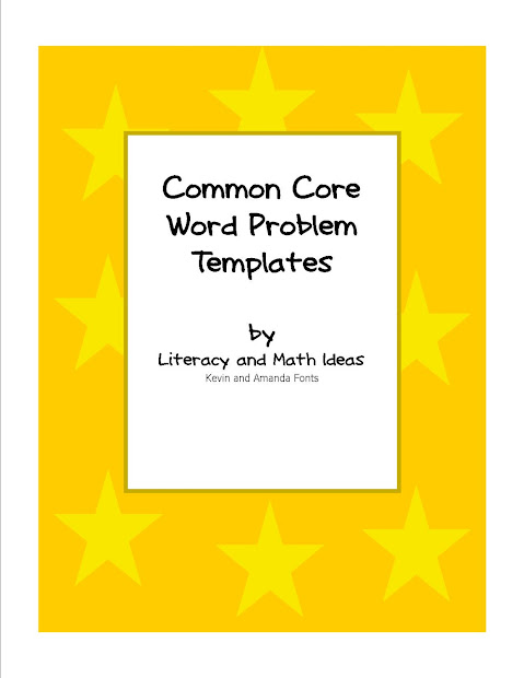 Common Core Math Word Problems