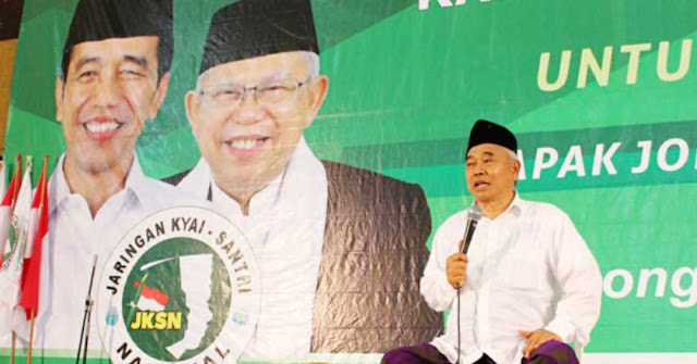 Kiai Asep Ingatkan Para Kiai-Habaib: Jokowi Jelas Shalatnya!