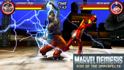 Download Marvel Nemesis Rise Of The Imperfects PSP PPSSPP ISO/CSO Save Data For Android