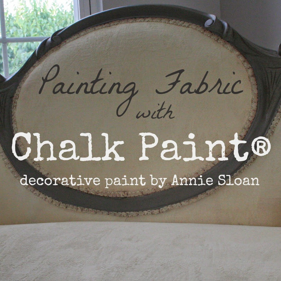 How To Paint Cushions With Annie Sloan Chalk Paint