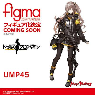 Figma UMP45 de Girl's Frontiline