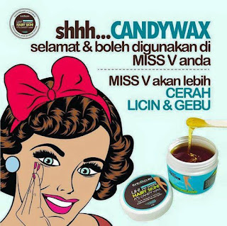 CANDY WAX HAIR REMOVAL