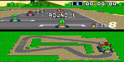Super Mario Kart - Captura 2