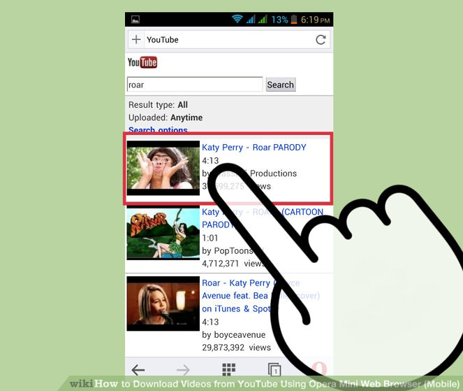 download videos from any website opera