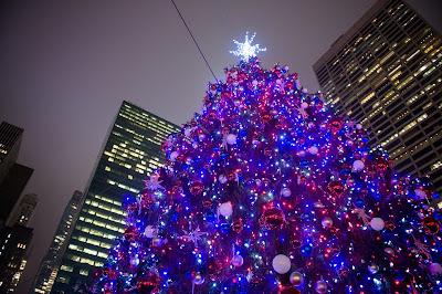 Image result for bryant park tree lighting 2016