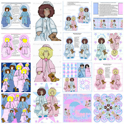 Baby Nicky Baby Shower Custom Fabric Collection