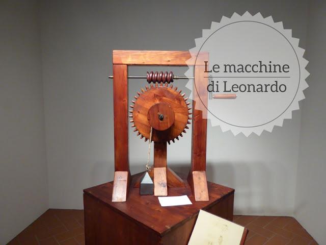 Le macchine di Leonardo in mostra a Sarzana